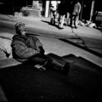 Homeless woman on the street, July 2009. PORTFOLIO MIVERINA, BACK TO MADAGASCAR BY RIJASOLO