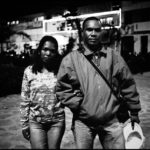Portrait of Dana and his wife Sandrine at 13 mai square, 2007. PORTFOLIO MIVERINA, BACK TO MADAGASCAR BY RIJASOLO