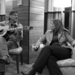 U.S. #1 songwriter Billy Montana (no relation to Hannah!) dueting with Lisa Bush at The Hutton Hotel.