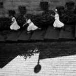 Three Girls in White Dresses by Ivan AzzopardiH