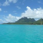 That perfect island vista that one expects from French Polynesia.