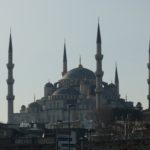 The Sultan Ahmed Mosque also called the Blue Mosque