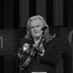 Country & Western legend Ricky Skaggs performing at the Grand Ole Opry.