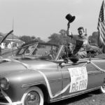 Ag Fair Parade in Pine Plains, New York in 1951.