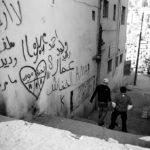 Graffiti by Laith Majali. Shot with a Leica M6, Tri-X film.