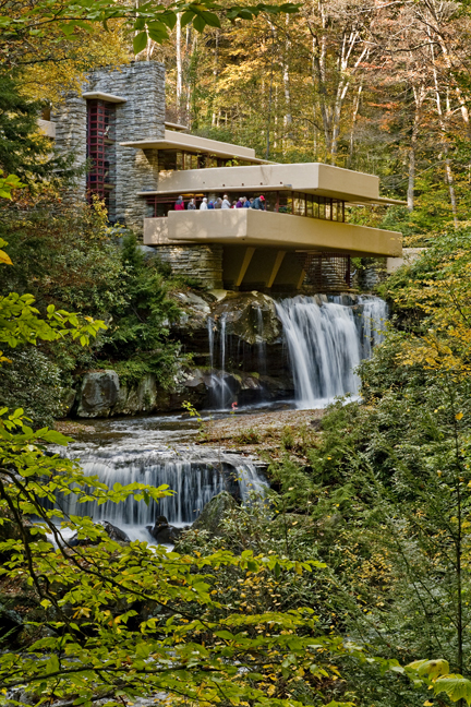 Carl Merkin A Visit to Frank Lloyd Wrights Falling Water The