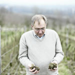 The wine-grower Hans Lang at his wineyard in Hattenheim by Oliver Rüther