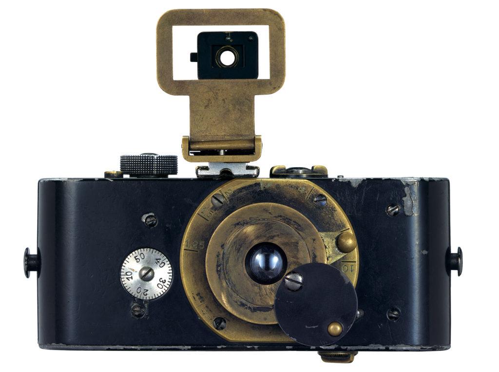 © Leica Camera AG: Ur-Leica, built by Oskar Barnack, completed in 1914
