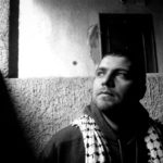 A portrait of Kanan a rapper from Gaza, currently living in Cairo by Laith Majali