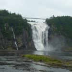The Montmorency Falls is 83 metres tall
