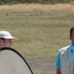 Varun filming in Botswana