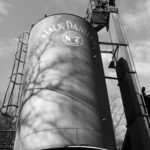 One of the storage tanks at the Jack Daniel's distillery in Lynchburg. Whiskey has been produced here since 1866.