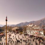 Barkhor Square, Lhasa; Taken by Annie Atkins with the V-Lux 2
