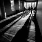 © David English Convention Center Hallway (Leica M Monochrom, 16 mm Tri-Elmar)