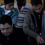O'Farrill works with Cuba music students during a master class. Educational and cultural exchange was a driving force behind his return to Cuba.