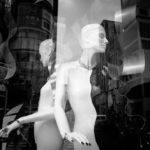 Ginza Display Window (Leica M Monochrom, 28 mm Summicron)  © David English