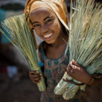Girl with Brooms- Harer, Ethiopia; Taken with a Leica M9 by William Palank
