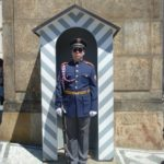 Guard outside Prague Castle sporting Aviators! by Varun Sharma, V-Lux 20