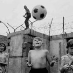 GERMANY, Berlin, 1963. Children playing at the Berlin Wall in Berlin Wedding