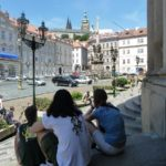 Hiding from the Prague sun by Varun Sharma, V-Lux 20
