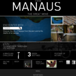 """MANAUS The Great Move"" - iPad Application"