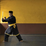 A Silat Master preforming the Malaysian Martial Art of Silat © Justin Guariglia