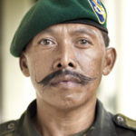 A general for the JMF, Johor Military Force © Justin Guariglia