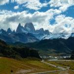 Approaching El Chalten, Argentina