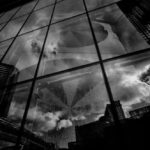Reflected Vegas (Leica M Monochrom, 18mm Super-Elmar) © David English