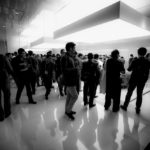 CES Booth (Leica M Monochrom, 16mm Tri-Elmar) © David English