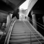 CityCenter Stairs (Leica M Monochrom, 16mm Tri-Elmar) © David English