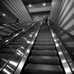 © David English Luxor Escalator (Leica M Monochrom, 16 mm Tri-Elmar)