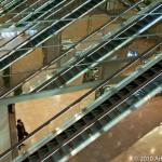 Escalators, Tokyo; Taken with Leica M8