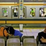 Train Station, Tokyo; Taken with Leica M8