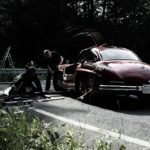 Making of Mercedes SL 300 Rig shooting taken by Ulla Hebgen