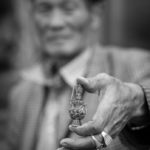 Ulaan Bataar, snuff bottle seller. 75 mm Summarit @ f/2.5 © Nick Rains