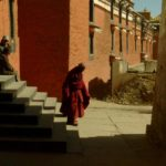 Monk Shigatse Monastery; Taken by Annie Atkins with the V-Lux 2