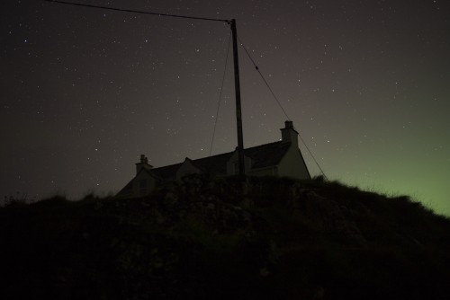 Scotland. Isle of Harris, Outer Hebrides. Starry night. 2015