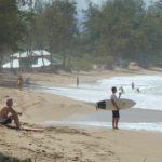 Paia Beach - a surfers' paradise