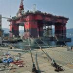 Semi Submersible Rig, DSME Shipyard, Geoje Island 2007