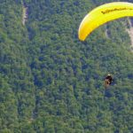 That's me paragliding. The flight in Villeneuve lasted a fabulous 35 minutes.