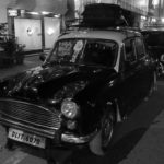 The Ambassador taxi cab - the King of the Indian roads. Built in India in the 1950's - based on the UK's Morris Oxford.
