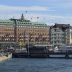 The Grand Hotel in Stockholm, which opened in 1874; t is one of the oldest luxury palace hotels in Europe.