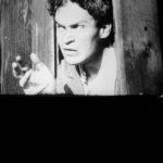The Villain: a scene from a silent era Austria film