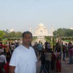 Varun bids farewell to the Taj