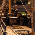 The famous Swedish warship, the Vasa, which sank after just 45 minutes on the water!