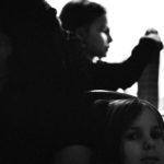 Three Women: an asylum seeker from Chechnya and her two daughters sit in their apartment