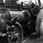 Traction engine rally by Steve Unsworth