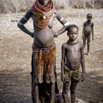 Woman with Boy- Omo Valley Region, Ethiopia; Taken with an M9 by William Palank
