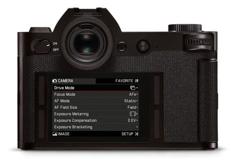 Leica SL Handling